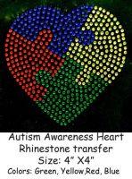 Autism Awareness Heart